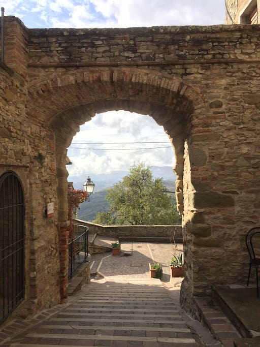 The hamlet, il paese