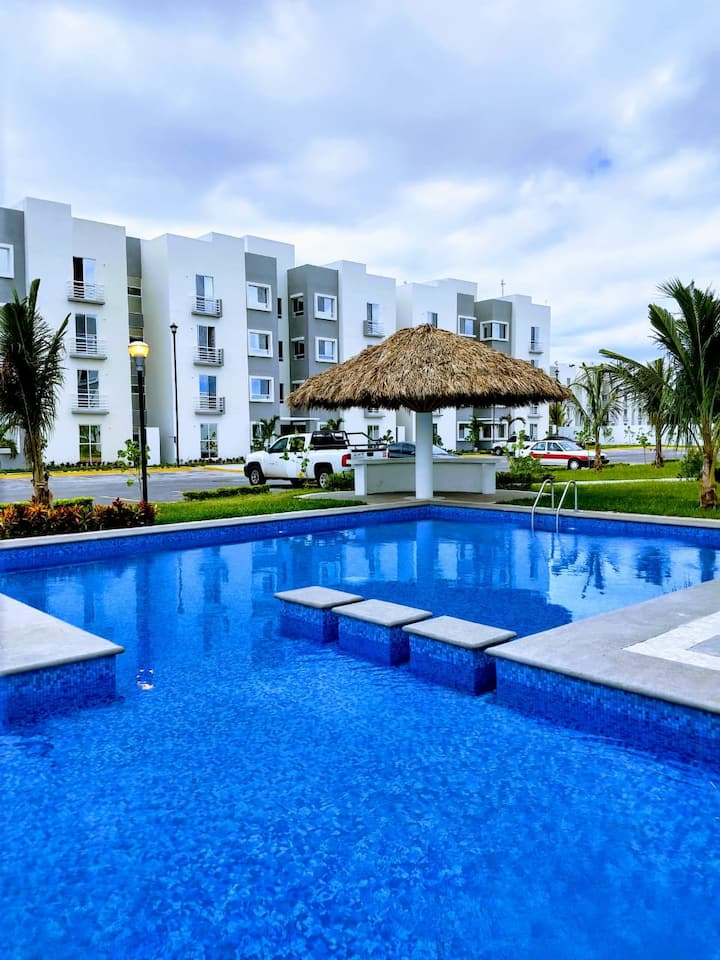 Bonito depto Veracruz 25 min centro X aeropuerto