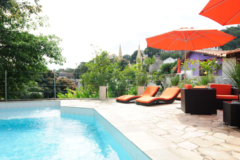Casa Cool Beans pool