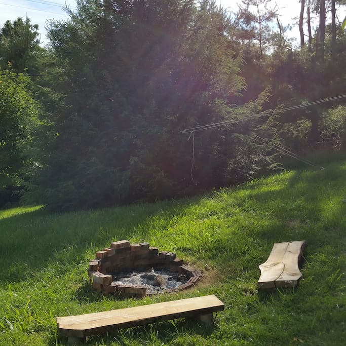 Use the fire pit responsibly, and please pay attention to the local fire bans.