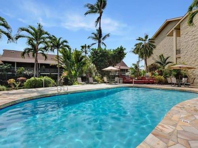 One block from Kailua-Kona Pier w Pool