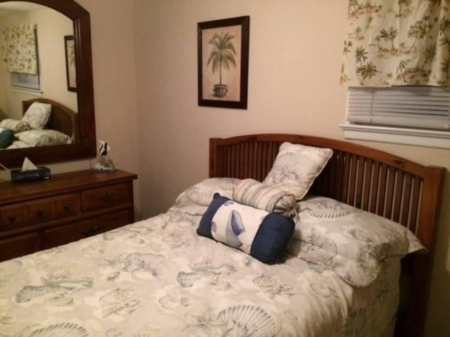 comfy new mattress's!