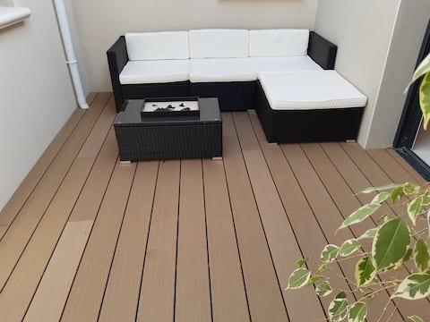 Chambre  avec patio