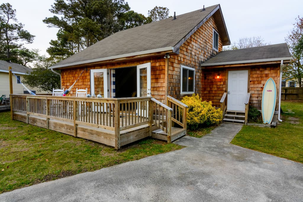 """Chill Beach & Surf Bungalow OBX """"The Original"""" Live Swell Beach Bungalow"""