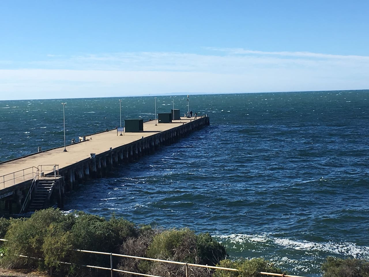 Short walk to the Jetty