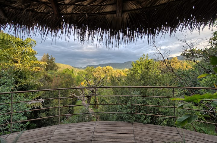Casa Raíz - Nature Lovers y Alberca - Malinalco