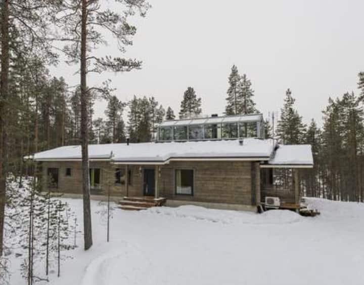 Villa Lake Jungajarvi at 100 m