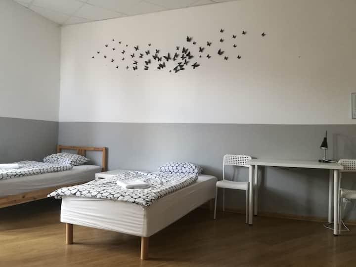 Hostel Sentral - triple room