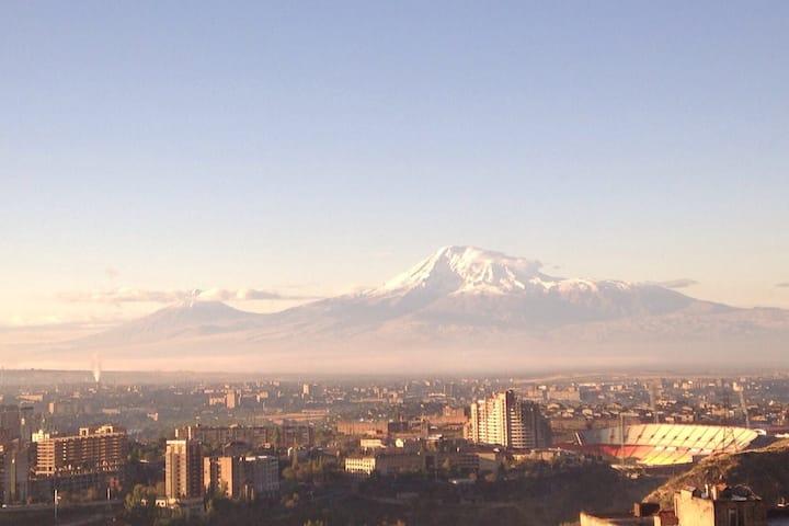 Ararat mountain view modern apartment