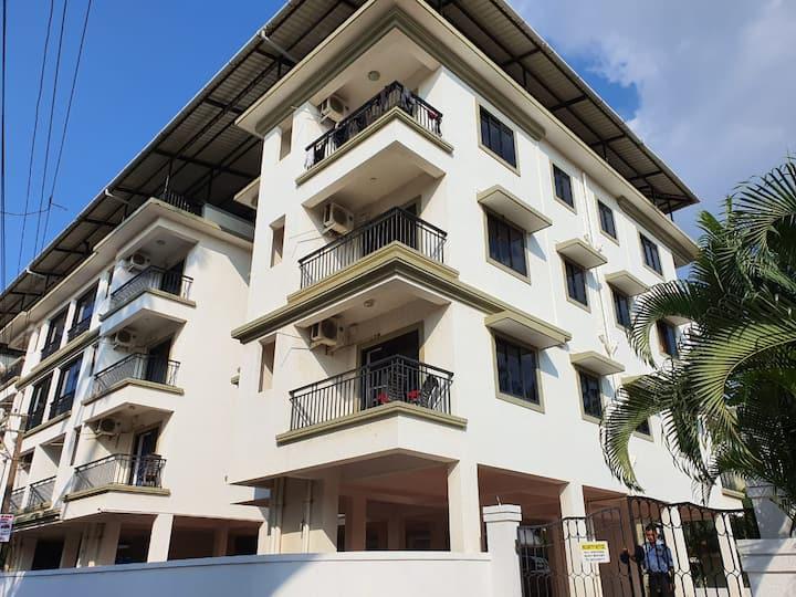 """Aquamarine Service Apartment 1 BHK """"1 @ Baga Goa"""