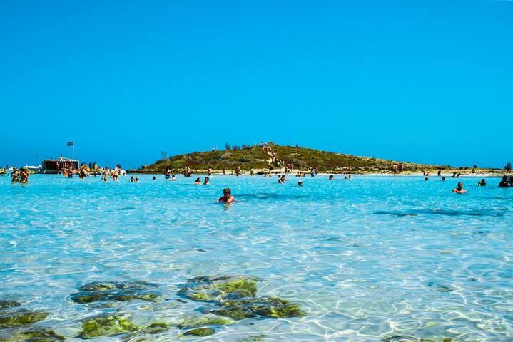 Ayia Napa Beaches 40 mins away