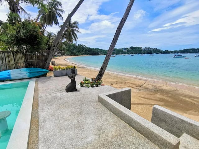 ★Studio in Seafront Private Villa w/infinity pool★