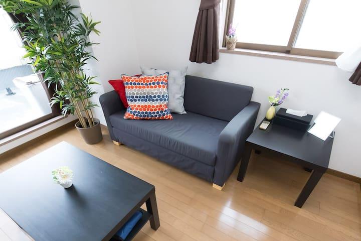 Wonderful 1 Room  nr STA 4min>Namba&Umeda +WiFi !! - Chūō-ku, Ōsaka-shi - Wohnung
