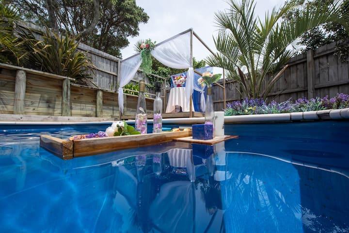 Only150m to beach &swimming pool villa海边度假屋私人泳池