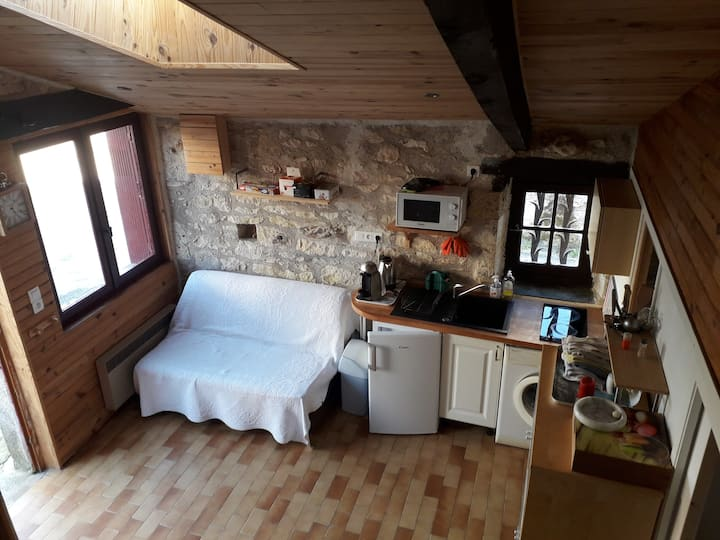 Appartement au cœur du village et du Quercy