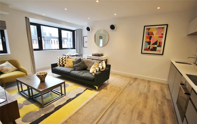Stylish, Apartment 506, One The Brayford, Lincoln