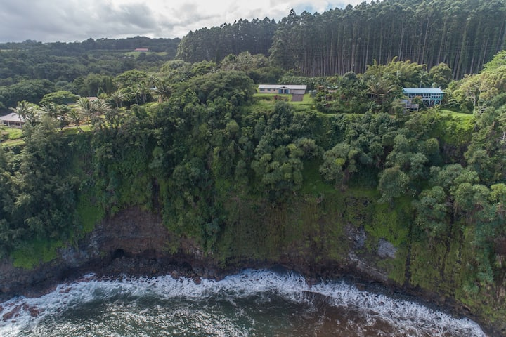 Hawaii Life Rentals presents Home with Ocean Views Along the Hamakua Coast! - Hamakua Pukana La Hale
