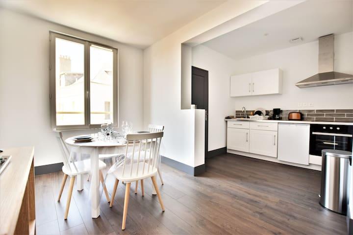 Appartement saisonnier moderne à 400m de la plage