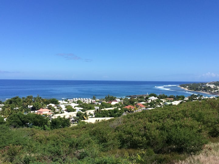 T2 avec jardin Proximité plage  vue d'exception