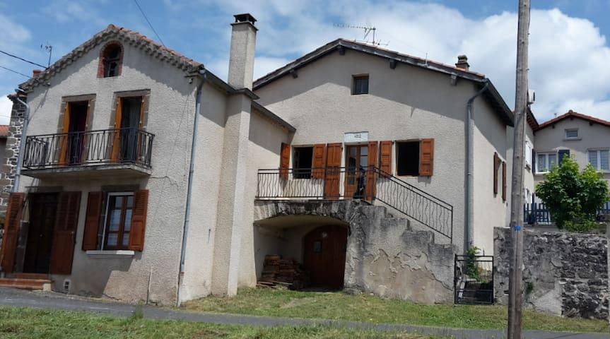 Maison de Montagne Haute loire  pied de la Durande - Langeac - Rumah