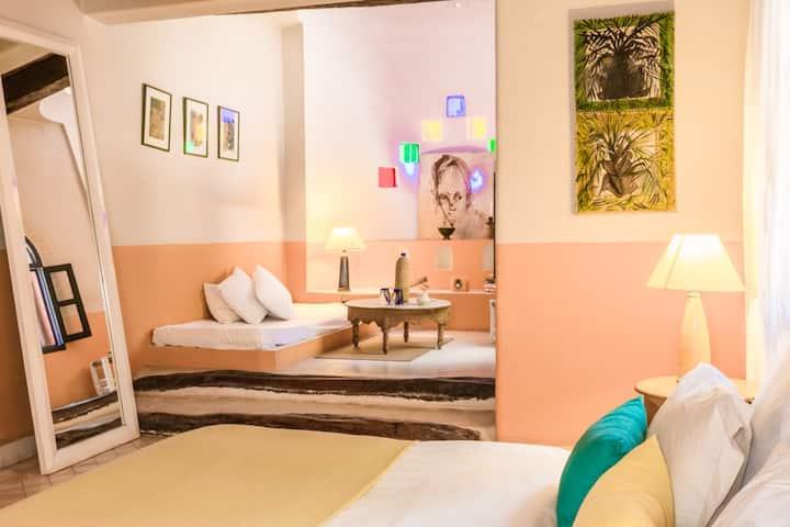 Riad Baoussala - Chambre Oasis