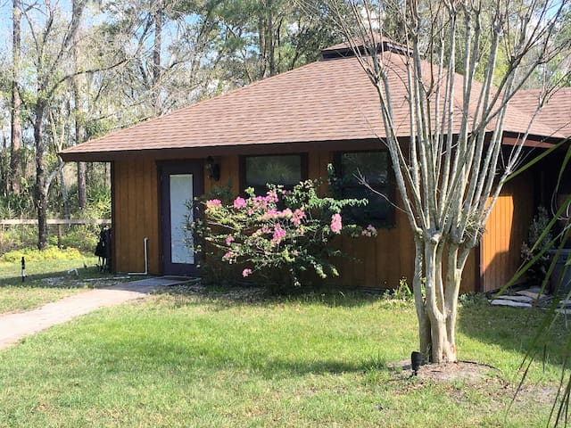 Private wooded setting in Lutz, pet friendly - Lutz - Hospedaria