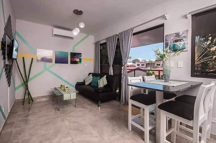 Brand new,5 minutes from the beach.