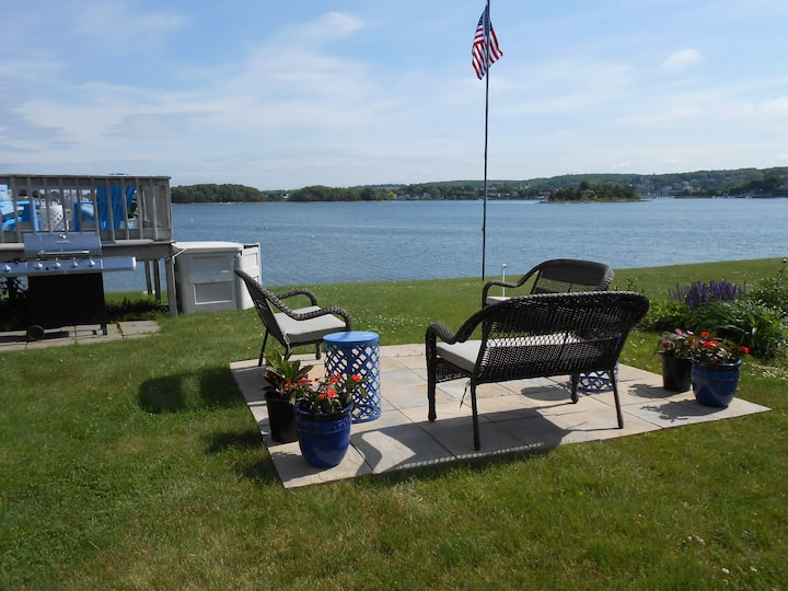 Newport County Waterfront Kayaks Fire Pit 5/11-19