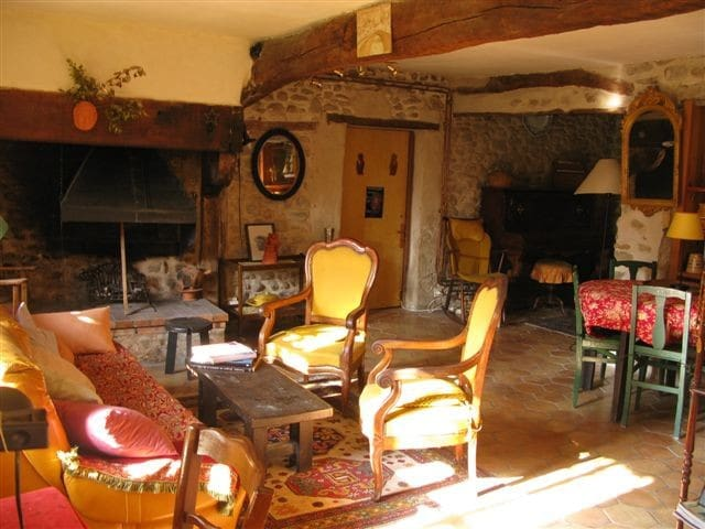 La Lauze: Lovely restored farmhouse - Saint-Gervais-sur-Roubion - Casa