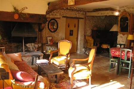 La Lauze: Lovely restored farmhouse - Saint-Gervais-sur-Roubion - House