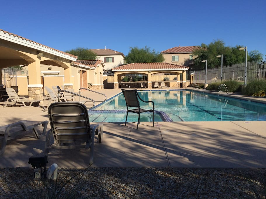 Pool Area - 30 yards from patio
