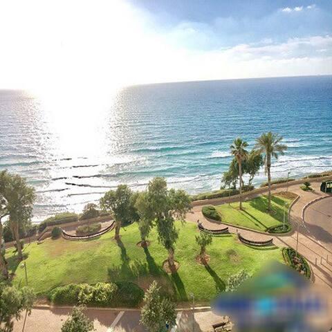 Netanya Oceanfront Seaside suite Apartment