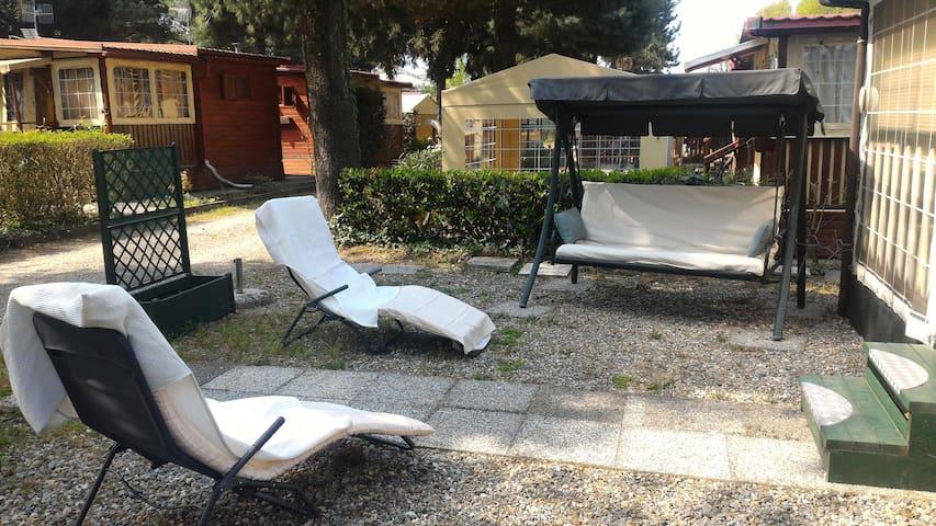 Casa Mobile Camping Lido Verbano - Castelletto sopra Ticino - Bungalow