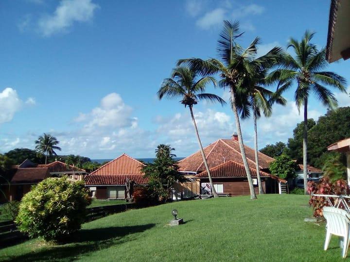 STUDIO Sainte Anne, Martinique, Terrasse, 1/4 Per