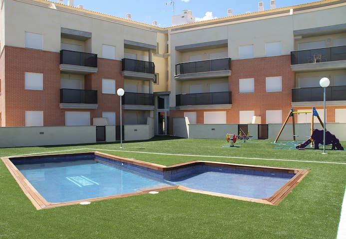 Precioso  Apartamento. Urbanización  cerca del mar - Alcalà de Xivert - Byt