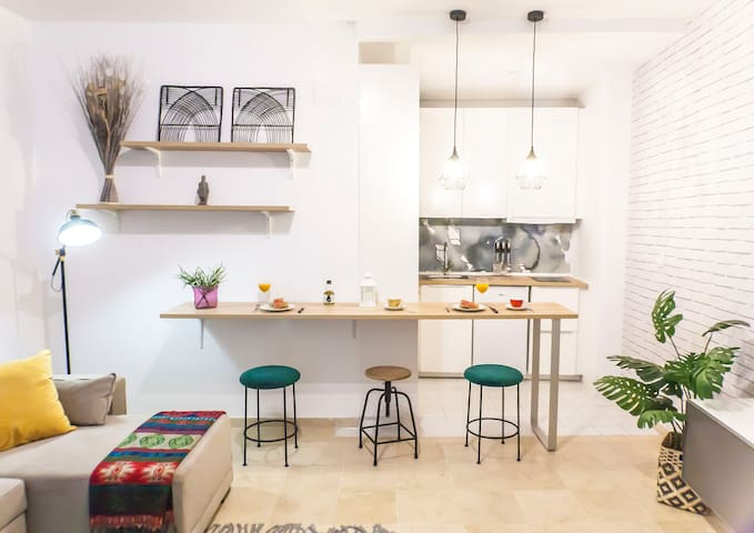 Estiloso y moderno apartamento en Casco histórico