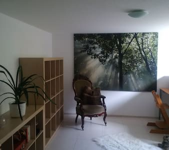 Big & bright room, 25min by bus to the city center - Huis