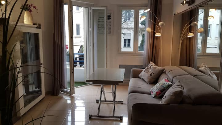 Cozy and functional apt - Antibes - Near the beach