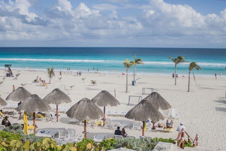 Beautiful Room 5 Pax in Cancun Resort