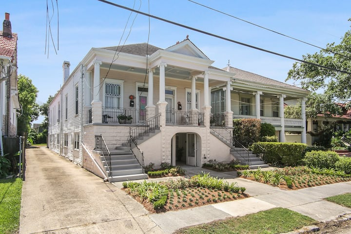 BAYOU LIVING! STEP TO CITY PARK MID CITY HIDEAWAY