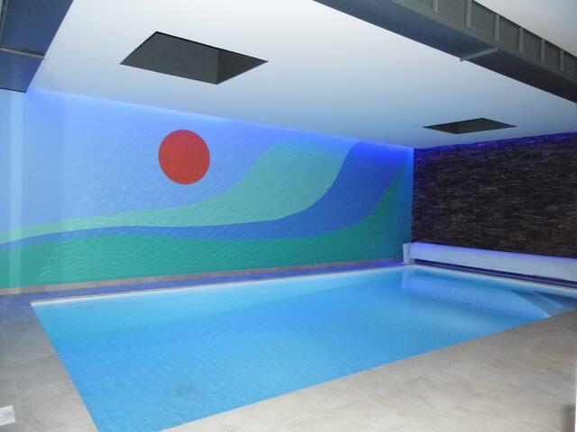 "Villa ""TY MAM'GOZ"" avec sa belle piscine privée - Santec - Villa"