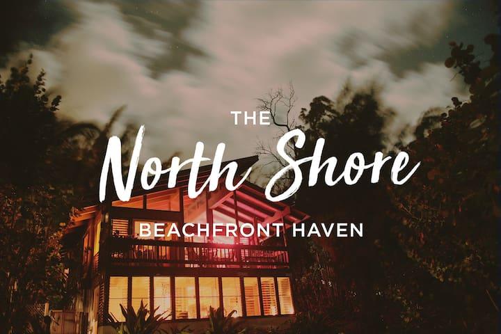 North Shore Beachfront Haven - Kahuku - Huis