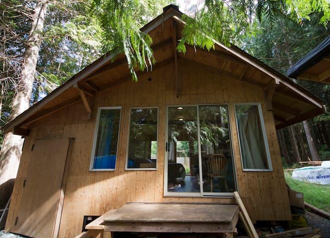 Paddler's Cabin on Denman Island