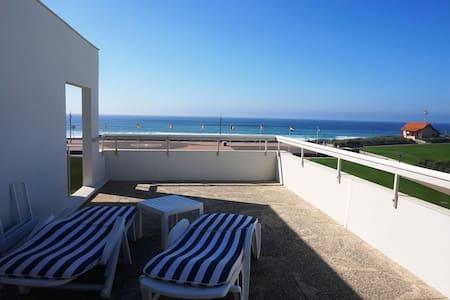 Joli T2 cabine avec grande terrasse face à la mer (021) - Biscarrosse - Apartemen