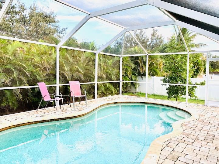 Coastal Cape Home w/Heated Pool-Sleeps 6