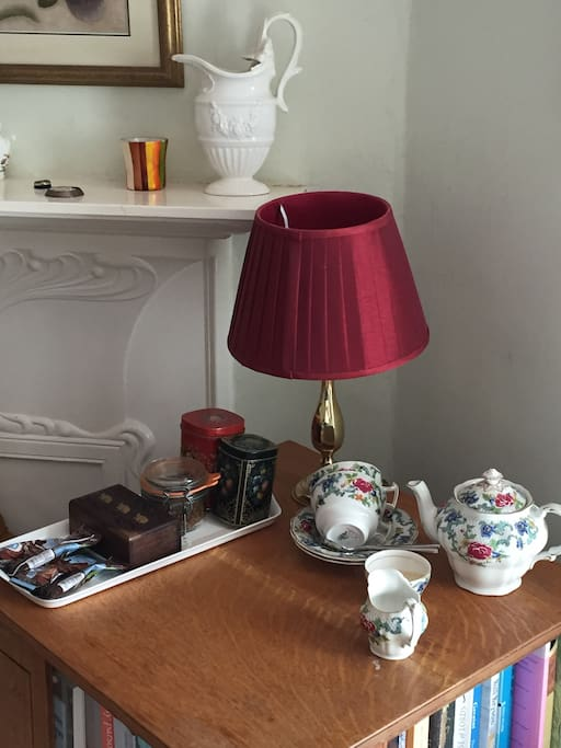 Coffee and a Selection of Teas