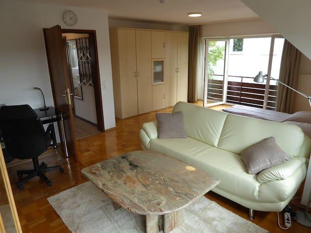 Helle neu sanierte 1,5 Zi. Wohnung in schöner Lage - Leonberg - Apartamento
