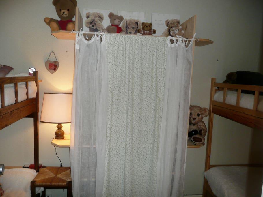 Le dortoir (4 couchages - étage)