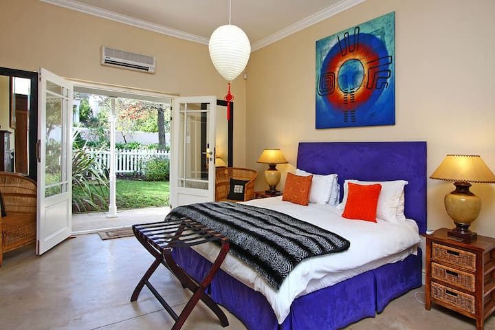 Master bedroom - king bed and air-con