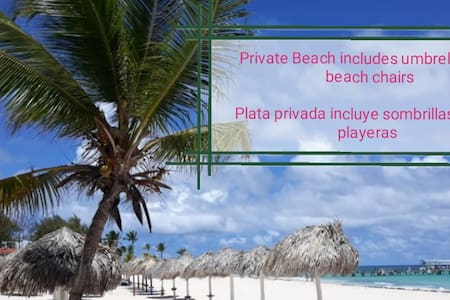 Corales Colonial A2 - private beach